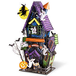 National Tree Company® Haunted House Candle Holder