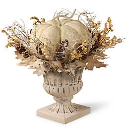 National Tree Company® 18-Inch Pumpkin Décor in White