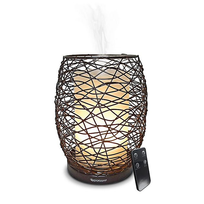 Alternate image 1 for SpaRoom® Enlighten™ Ultrasonic Essential Oil Diffuser