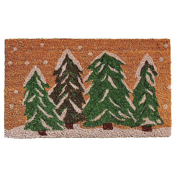 Alternate image 1 for Home & More Winter Wonderland Door Mat