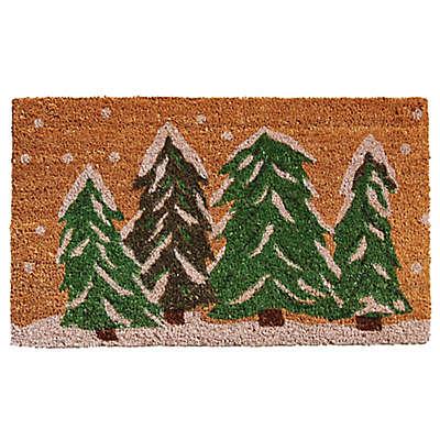 Home & More Winter Wonderland Door Mat
