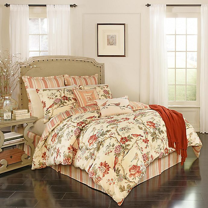 Waverly Charleston Chirp 7 Piece Comforter Set Bed Bath And Beyond
