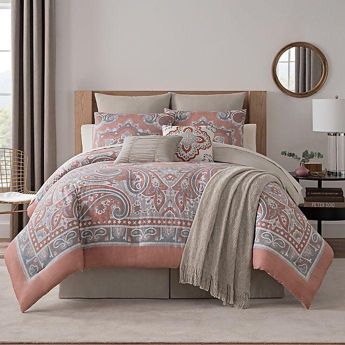 Alternate image 1 for Bridge Street Paisley Medallion 7-piece Comforter Set