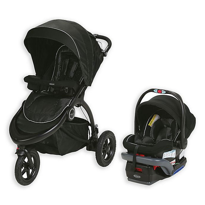 Alternate image 1 for Graco® Trailrider™ Jogger Travel System in Comet™