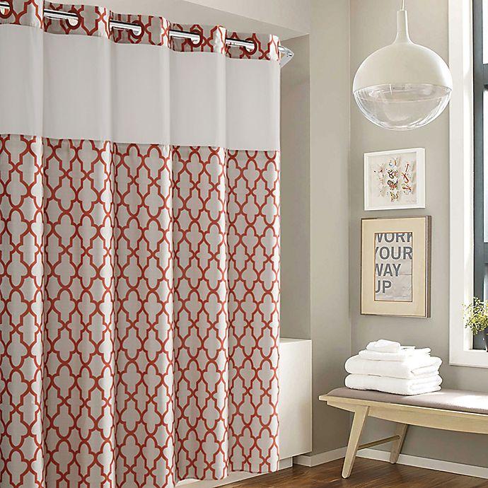 Alternate image 1 for Hookless® Monaco Shower Curtain