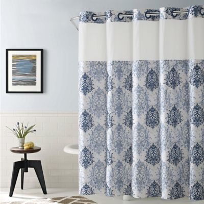 HooklessR Ikat Shower Curtain Collection