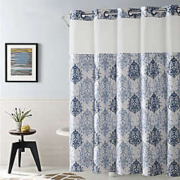 Hookless® Ikat Shower Curtain