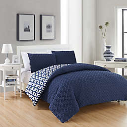 Chic Home Maritoni 3-Piece Reversible Comforter Set