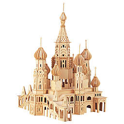 St. Petersburg Church 705-Piece 3D Wooden Puzzle