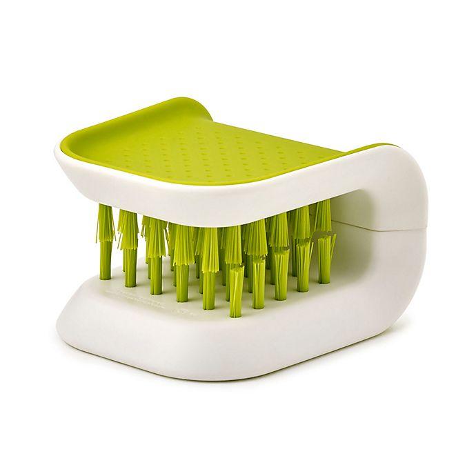 Alternate image 1 for Joseph Joseph® BladeBrush™ Knife Cleaner in Green