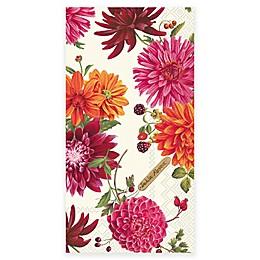 Boston International 16-Count Dahlia Paper Guest Towel Napkin