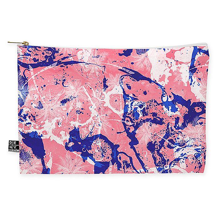Alternate image 1 for Deny Designs Marta Barragan Camarasa Exotic Marble II Medium Pouch in Pink