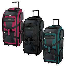 Traveler s Club Luggage 30-Inch Rolling Upright Duffle 0d3e2fd6ea573
