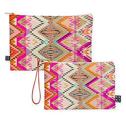 Deny Designs Pattern State Marker Southern Sun Pouch in Pink