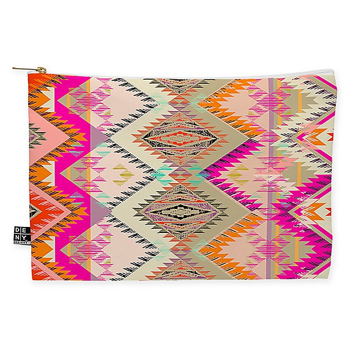 Alternate image 1 for Deny Designs Pattern State Marker Southern Sun Medium Pouch in Pink