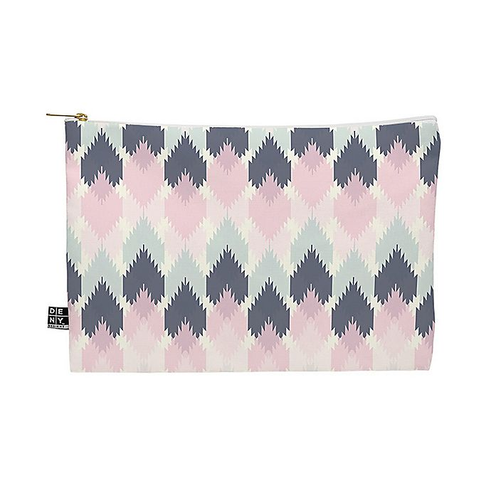 Alternate image 1 for Deny Designs Craftbelly Spring Kilim Medium Pouch in Pink