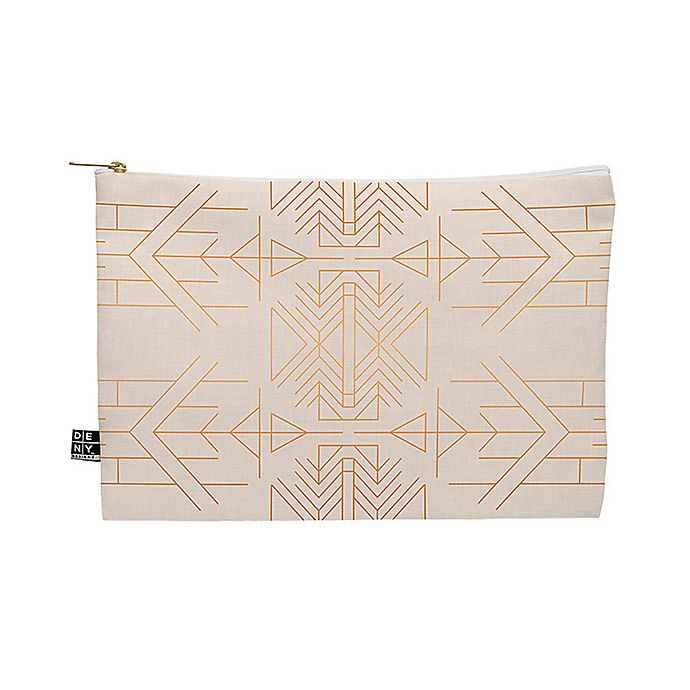 Alternate image 1 for Deny Designs Holli Zollinger Esprit Medium Pouch in Gold