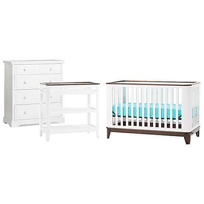 Child Craft™ Studio™ Nursery Furniture Collection in Matte White/Slate