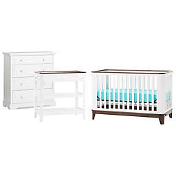 Child Craft™ Studio™ Nursery Furniture Collection in Matte White/Slate