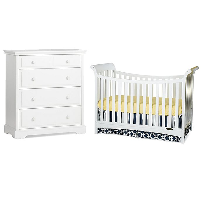 Child Craft Coventry Nursery Furniture Collection In White