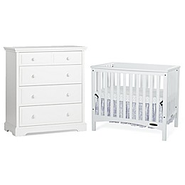 Child Craft™ London Euro  Nursery Furniture Collection in White