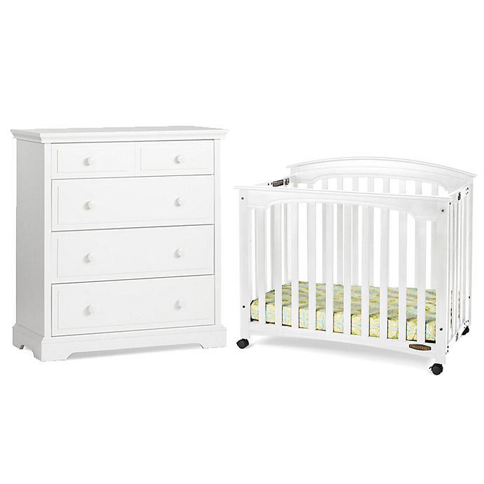 Child Craft Wadsworth Nursery Furniture Collection In Matte White