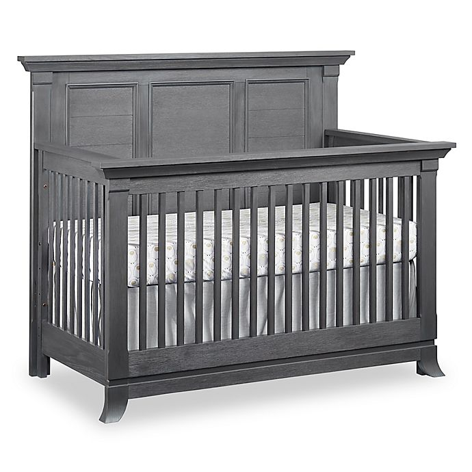 Alternate image 1 for Ozlo Baby Hamilton 4-in-1 Convertible Crib in Grey