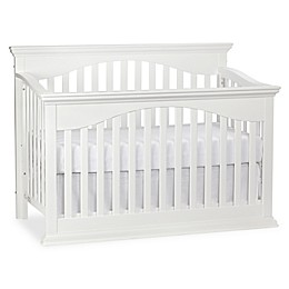 Bailey 4-in-1 Lifetime Convertible Crib in White