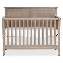 Suite Bebe Asher 4-in-1 Convertible Crib in Blossom Grey