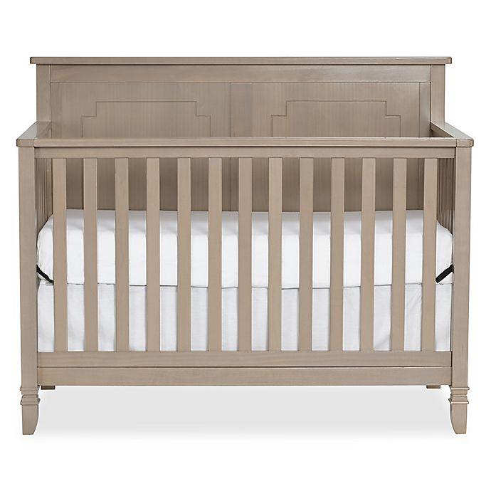 Alternate image 1 for Suite Bebe Asher 4-in-1 Convertible Crib in Blossom Grey