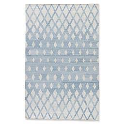 Jaipur Winipeg Indoor/Outdoor Rug in Blue/Cream