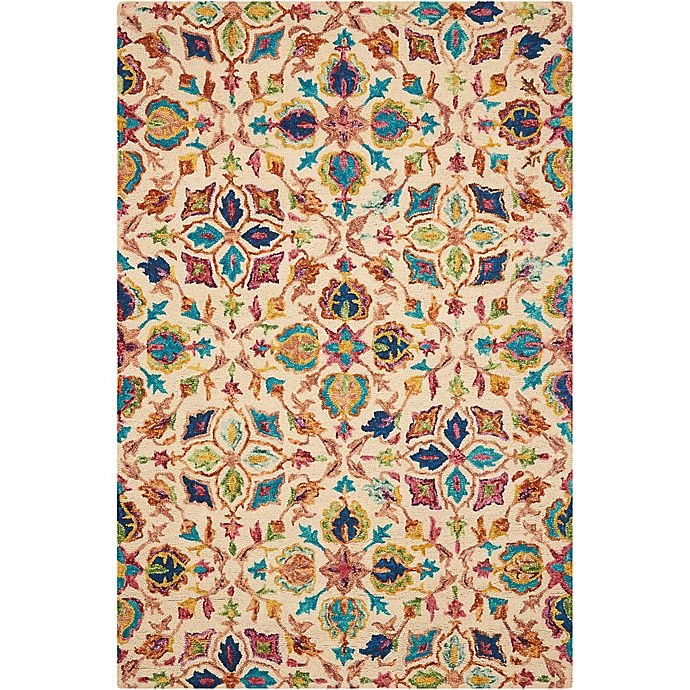 Alternate image 1 for Nourison Vibrant 4' x6' Hand Tufted Area Rug in Ivory