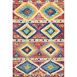 Nourison Vivid Diamond Multicolor Rug