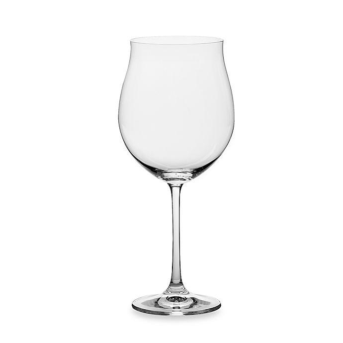 Alternate image 1 for Nachtmann Crystal Vivendi 31-2/3 oz. Burgundy Glasses (Set of 4)
