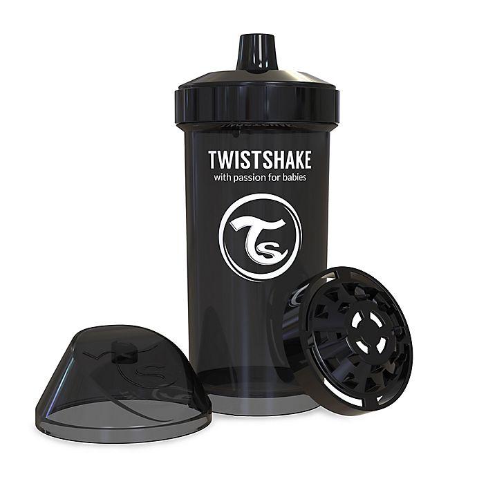 Alternate image 1 for Twistshake 12 oz. Plastic Kid Cup in Black