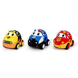 Oball™ Go Grippers™ 3-Pack Emergency Cars in Yellow