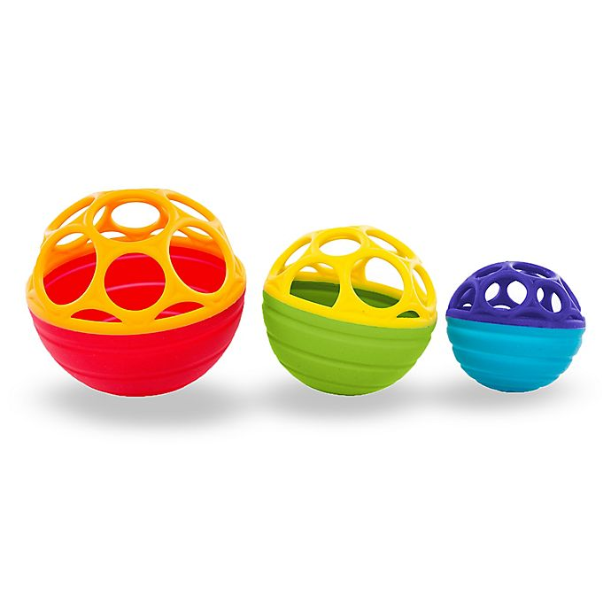 Alternate image 1 for Oball™ Flex & Stack Balls in Yellow
