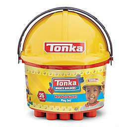 Tonka® 25-Piece Mighty Builders Hard Hat Bucket Play Set