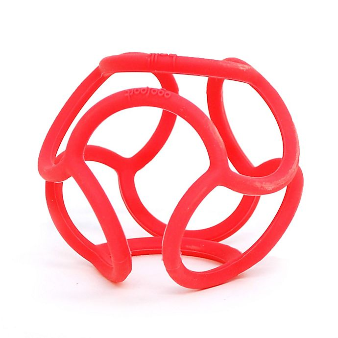 Alternate image 1 for OgoSport Bolli Tactile and Sensory Ball Peg Toy in Red