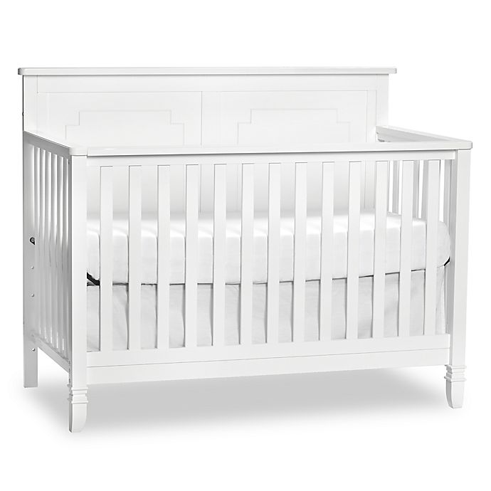 Suite Bebe Asher 4 In 1 Convertible Crib In White Buybuy