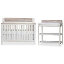 Hayes Nursery Furniture Collection in White