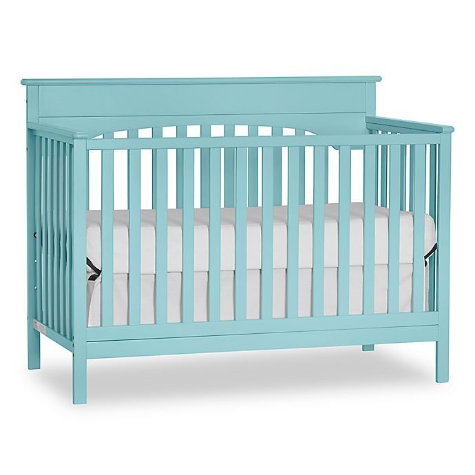 Alternate image 1 for Harley 4-in-1 Lifetime Convertible Crib in Mint
