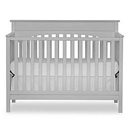 Harley 4-in-1 Lifetime Convertible Crib in Grey