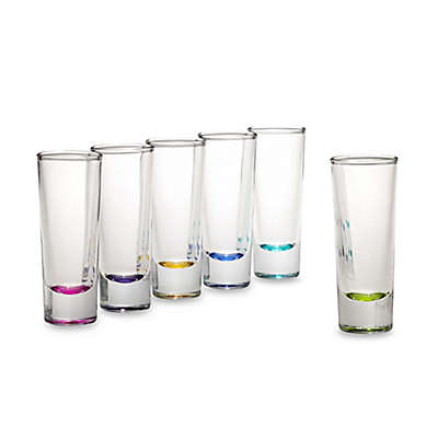 Libbey® Troyano Color 2-Ounce Shot Glasses (Set of 6)