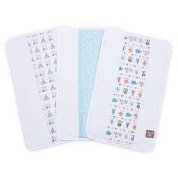 Trend Lab® Forest Babies 3-Pack Jumbo Burp Cloth Set