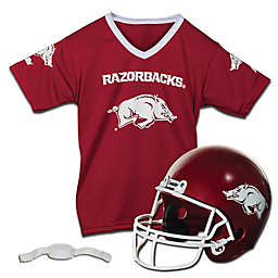 University of Arkansas Kids Helmet/Jersey Set