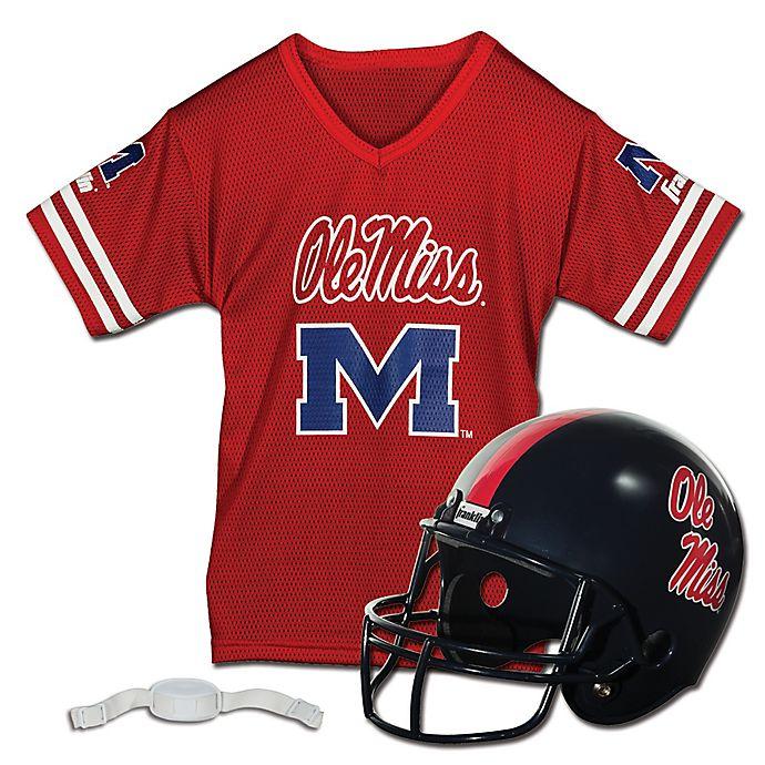 Alternate image 1 for Collegiate Kids Helmet/Jersey Set Collection