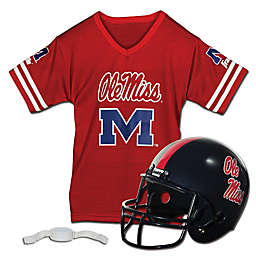 Collegiate Kids Helmet/Jersey Set Collection
