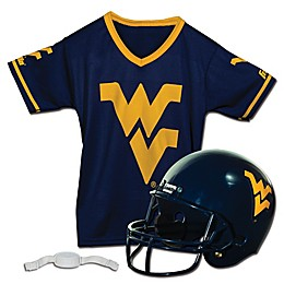 West Virginia University Kids Helmet/Jersey Set