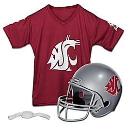 Washington State University Kids Helmet/Jersey Set